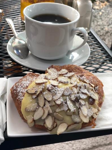 Almond croissant!
